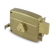 Cerradura 5000 Derecha Cilindro Suelto 60mm Dorada